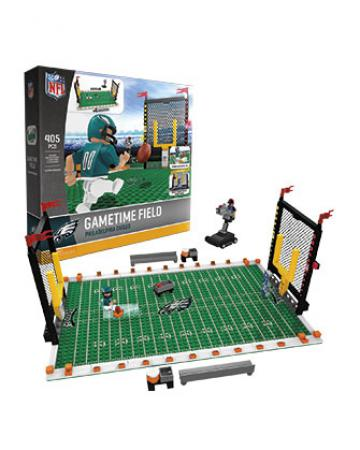 Gametime Set Philadelphia Eagles Building Block Set