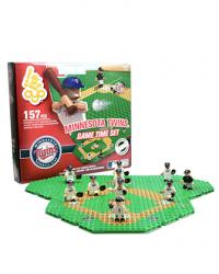 Gametime Set Minnesota Twins Building Block Set