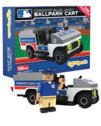 Ballpark Cart Toronto Blue Jays Building Block Set