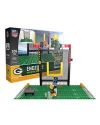 Endzone Set Green Bay Packers Building Block Set