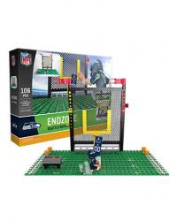 Endzone Set Seattle Seahawks Building Block Set
