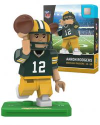 #12 Aaron Rodgers Green Bay Packers Home Version
