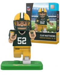 #52 Clay Matthews Green Bay Packers Home Version