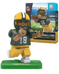 #18 Randall Cobb Green Bay Packers Home Version