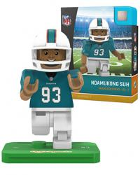 #93 Ndamukong Suh Miami Dolphins Home Version