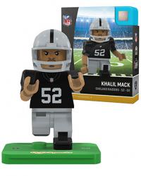 #52 Khalil Mack Oakland Raiders Home Version