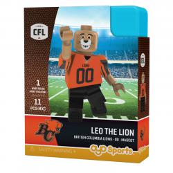 #00 Leo the Lion BC Lions Home Version