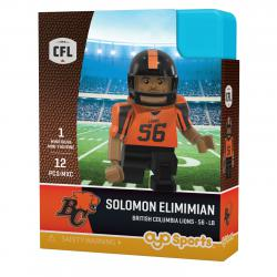 #56 Solomon Elimimian BC Lions Home Version