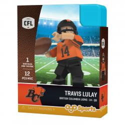 #14 Travis Lulay BC Lions Home Version