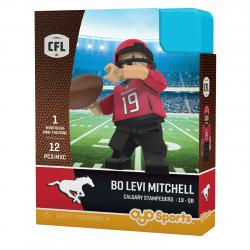 #19 Bo Levi Mitchell Calgary Stampeders Home Version