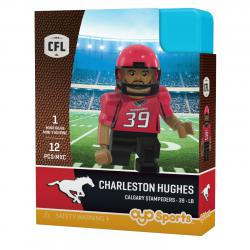 #39 Charleston Hughes Calgary Stampeders Home Version