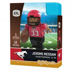 #33 Jerome Messam Calgary Stampeders Home Version