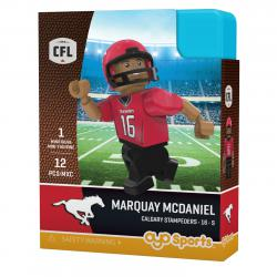 #16 Marquay McDaniel Calgary Stampeders Home Version