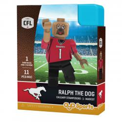 #1 Ralph the Dog Calgary Stampeders Home Version