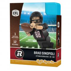 #88 Brad Sinopoli Ottawa Redblacks Home Version