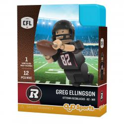 #82 Greg Ellingson Ottawa Redblacks Home Version
