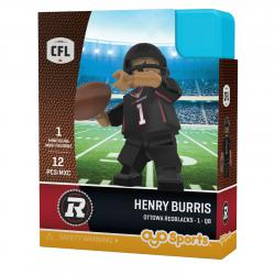 #1 Henry Burris Ottawa Redblacks Home Version