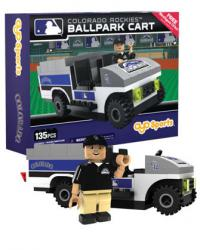 Ballpark Cart Colorado Rockies Building Block Set