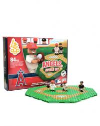 Infield Set Los Angeles Angels of Anaheim 84pc Building Block Set