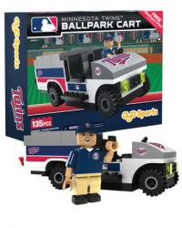 Ballpark Cart Minnesota Twins Building Block Set