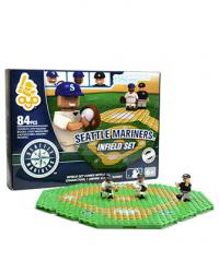 Infield Set Seattle Mariners 84pc Building Block Set