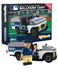Ballpark Cart Seattle Mariners Building Block Set