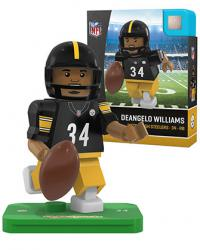 #34 Deangelo Williams Pittsburgh Steelers Home Version