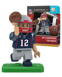 #12 Tom Brady AFC Champions Version New England Patriots