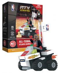 ATV with Super Fan Atlanta Hawks 85pc Building Block Set