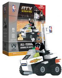ATV with Super Fan Brooklyn Nets 85pc Building Block Set