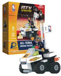 ATV with Super Fan Indiana Pacers 85pc Building Block Set