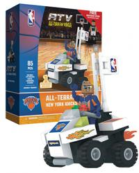 ATV with Super Fan New York Knicks 85pc Building Block Set