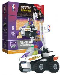 ATV with Super Fan Sacramento Kings 85pc Building Block Set