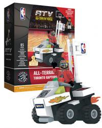 ATV with Super Fan Toronto Raptors 85pc Building Block Set