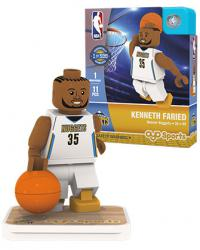 #35 Kenneth Faried Denver Nuggets Home Version