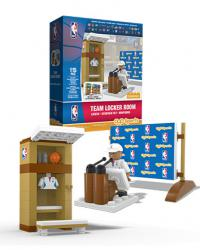 Team Locker Room All 30 NBA Teams 115pc Building Block Set