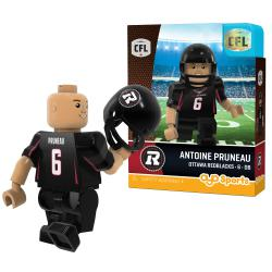 #6 Antoine Pruneau Ottawa Redblacks Home Version