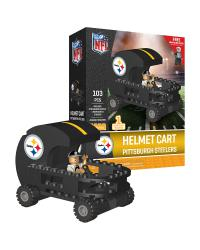 Helmet Cart Pittsburgh Steelers 106pc Building Block Set
